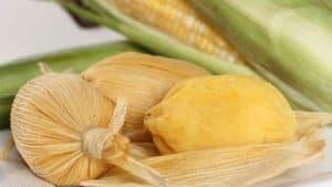 Bollitos de maíz tierno