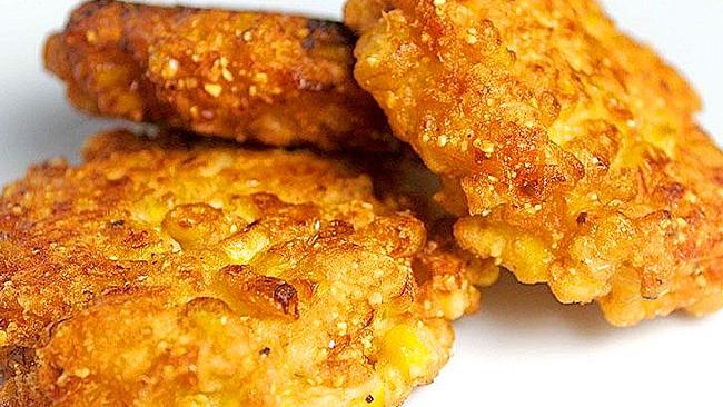 tortitas de maíz o jojoto