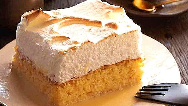 Torta De Tres Leches Bono Cuatro Leches Receta Venezolana