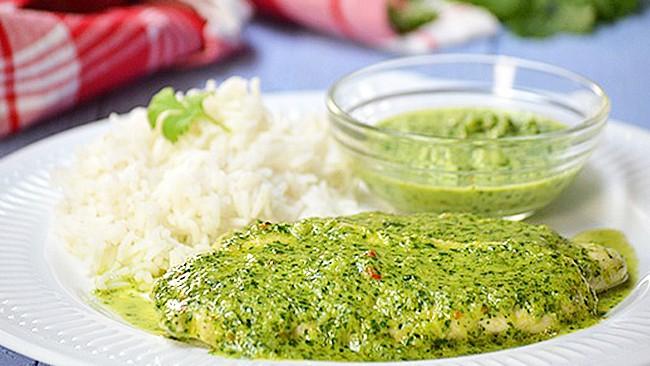 pollo-en-salsa-de-cilantro