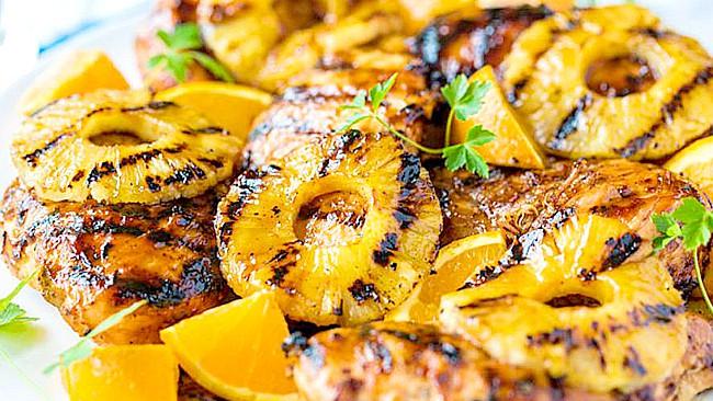 pollo-en-salsa-de-piña