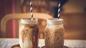 Café-frío-con-leche-de-coco