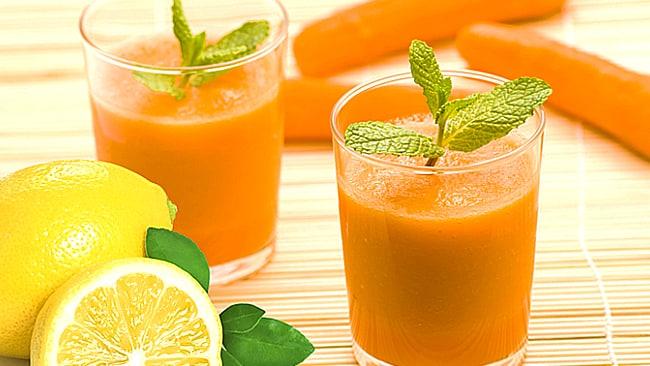 jugo-de-zanahoria-con-limon