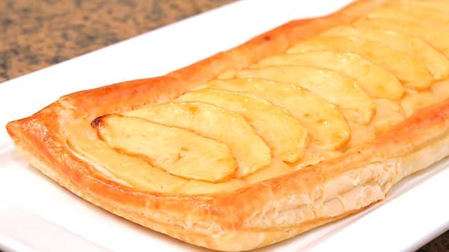 pastel-de-manzana-en-hojaldre
