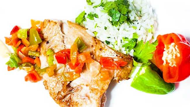 pescado-en-salsa-aji-dulce