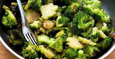 brocoli salteado