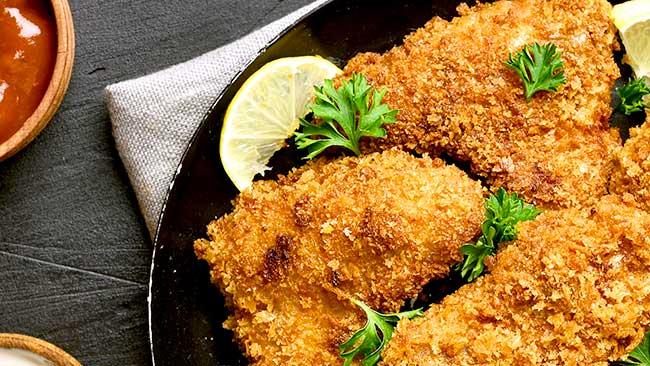 pollo-empanizado-con-granola