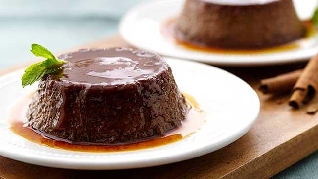 flan-de-chocolate-con-almibar-de-albahaca