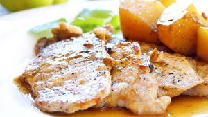 filetes-de-cochino-con-ron-de-coco