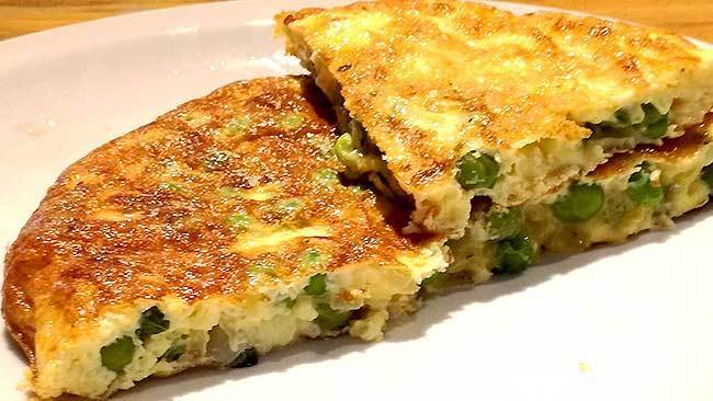 tortilla-de-arvejas