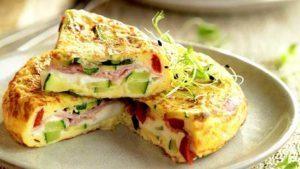 tortilla-de-calabacin-y-jamon