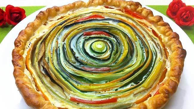 tarta-de-verduras-en-espiral