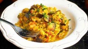 arroz-con-berenjena-y-calabacin