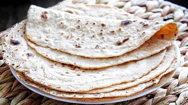 chapati-veggie