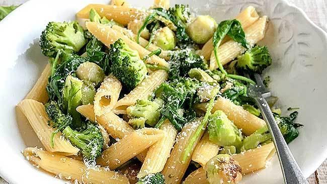 pasta-con-vegetales-salteados