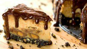 cheese-cake-vegano-con-chocolate-y-mani