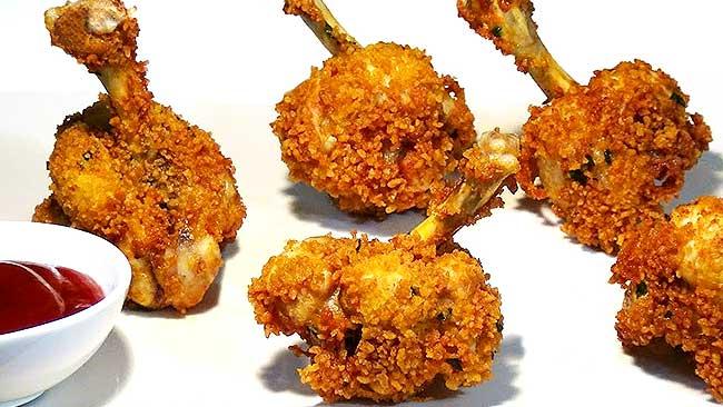 chupetas-de-pollo-empanizadas