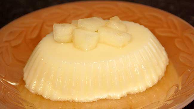 flan-de-melon-sin-huevo