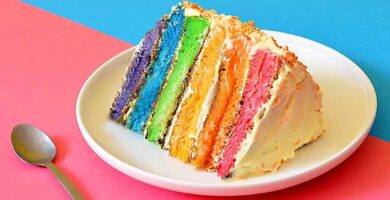 torta-de-arcoiris-sin-horno