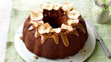 Torta de Chocolate y Manzanas